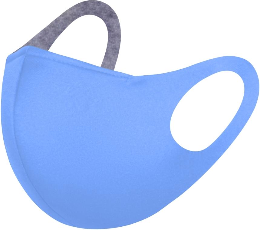 Маска питта с фиксацией, голубая M-size - Makeup