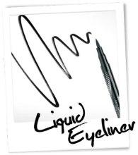 Жидкая подводка для глаз - Misslyn Liquid Eyeliner — фото N2