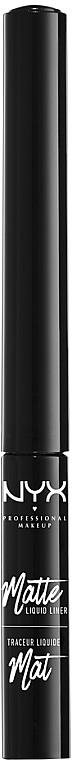 Жидкая матовая подводка для век - NYX Professional Makeup Matte Liquid Liner