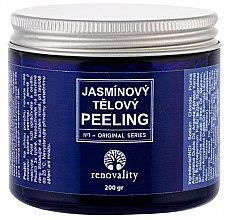 Духи, Парфюмерия, косметика Мелкозернистый солевой пилинг - Renovality Original Series Jasmine Body Peeling