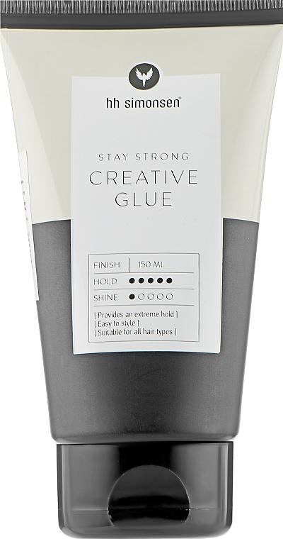 Гель для волос сверхсильной фиксации - HH Simonsen Creative Glue