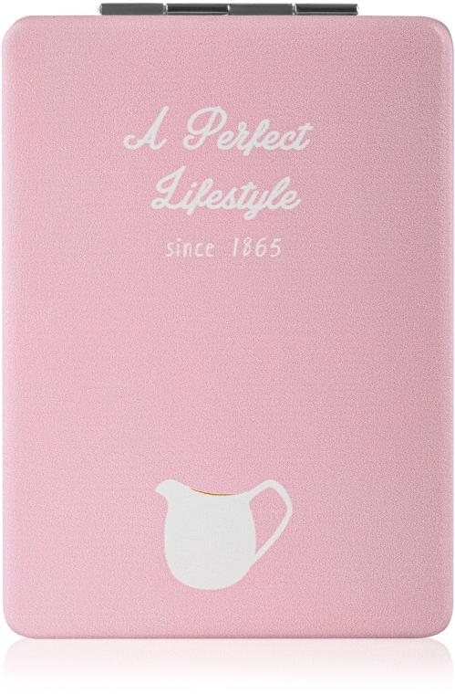 "Зеркало косметическое, ""A Perfect Lifestyle"", розовое - SPL"