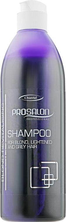 Восстанавливающий шампунь для светлых и седых волос - Prosalon Hair Care Light and Gray Shampoo