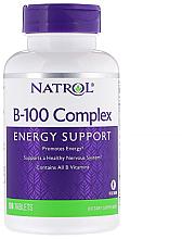 Духи, Парфюмерия, косметика Комплекс B-100, енергетическая поддержка - Natrol B-100 Complex Energy Support