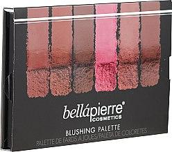 Духи, Парфюмерия, косметика Палетка румян для лица - Bellapierre Blushing Palette