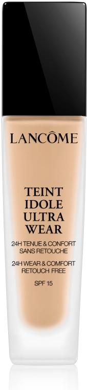 Стойкий тональный крем - Lancome Teint Idole Ultra Wear SPF 15