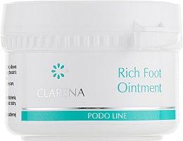 Духи, Парфюмерия, косметика Мазь для ног с растительными смолами - Clarena Podo Rich Foot Ointment