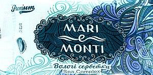 "Влажные салфетки ""СПА-комплекс"" - Mari E Monti Premium Spa Complex"