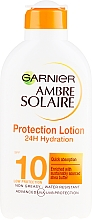 Духи, Парфюмерия, косметика Солнцезащитное молочко SPF 10 - Garnier Ambre Solaire Protection Lotion