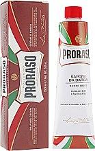 Духи, Парфюмерия, косметика Крем для бритья жесткой щетины с экстрактом карите и сандаловым маслом - Proraso Red Line Emollient Shaving Cream