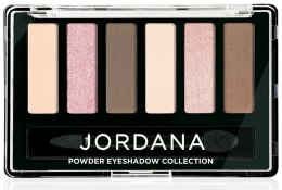 Духи, Парфюмерия, косметика Тени для век - Jordana Made To Last Powder Collection Eyeshadow