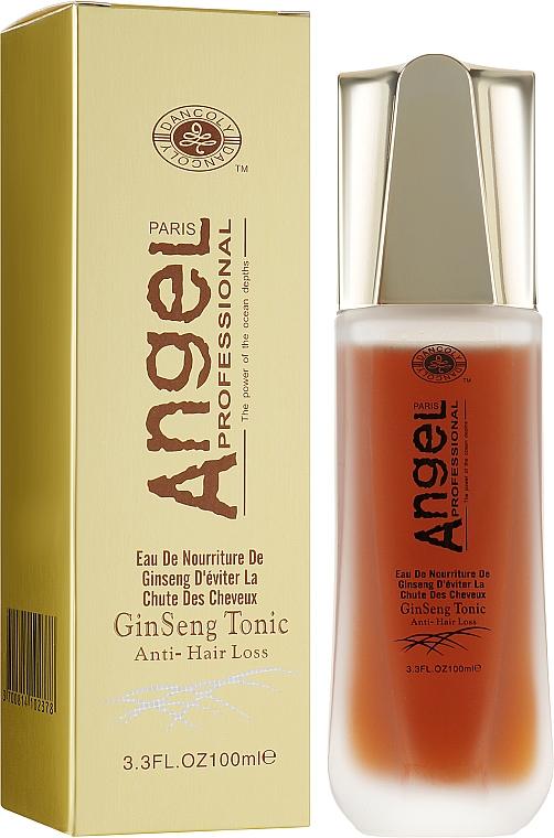 Тоник от выпадения волос с экстрактом женьшеня - Angel Professional Paris With Ginseng Extract Tonic