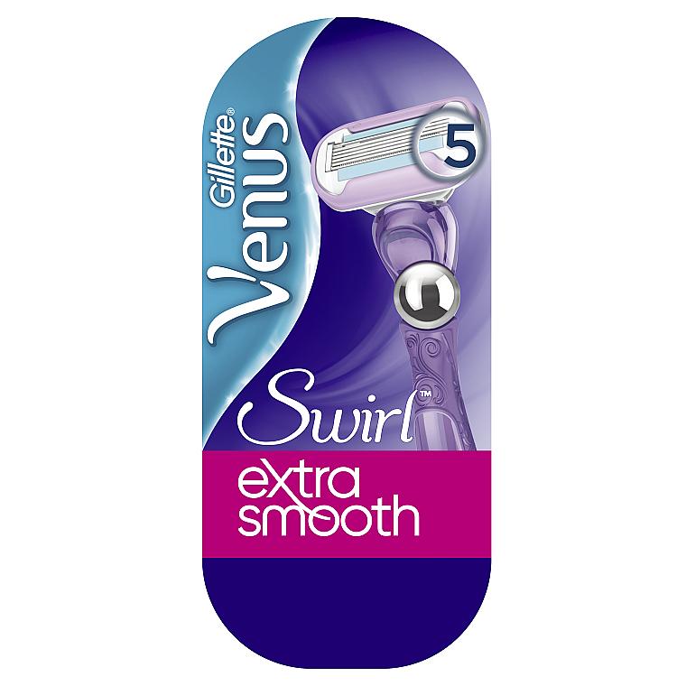 Бритва с 1 сменной кассетой - Gillette Venus Swirl
