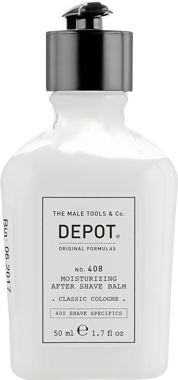 Увлажняющий бальзам после бритья - Depot Shave Specifics 408 Moisturizing After Shave Balm