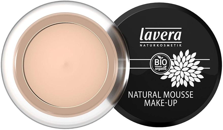 Тональный мусс для лица - Lavera Natural Mousse Make Up