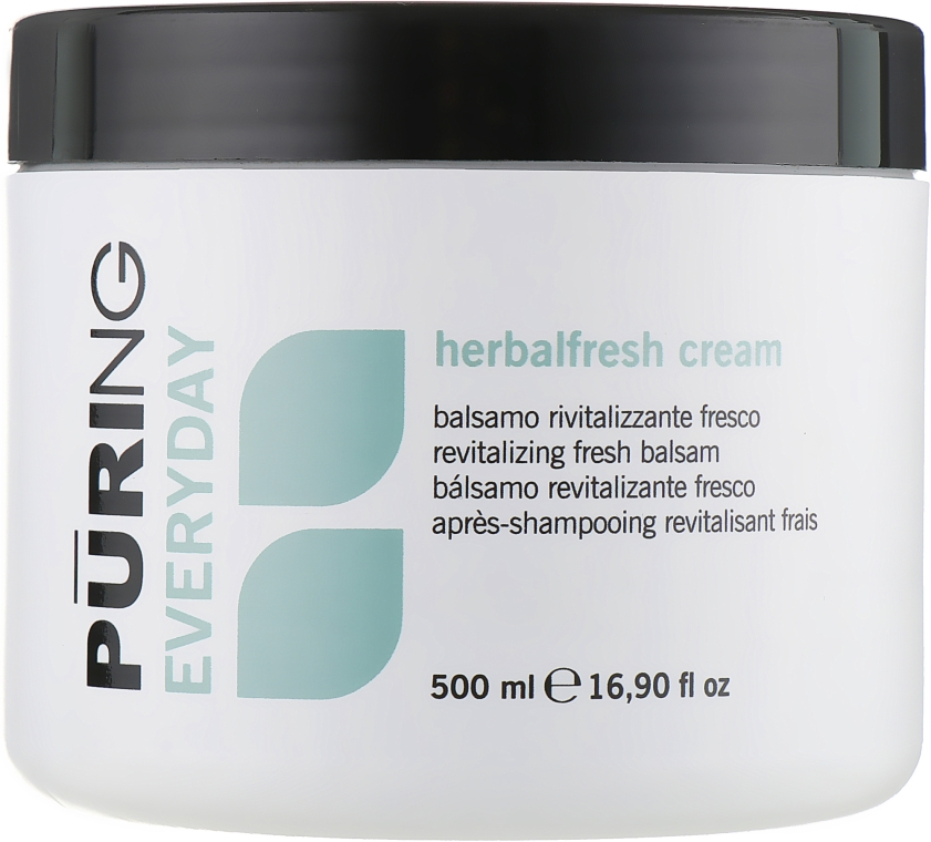 Ревитализирующий крем-кондиционер с растительными экстрактами - Puring Everyday Herbalfresh Cream