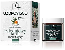 Духи, Парфюмерия, косметика Дневной увлажняющий крем с облепихой - Uzdrovisco All-day Hydrating Cream