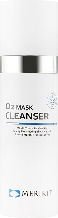 Кислородная очищающая маска для лица - Merikit O2 Mask Cleanser