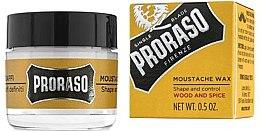 Духи, Парфюмерия, косметика Воск для усов - Proraso Moustache Wax Wood & Spice