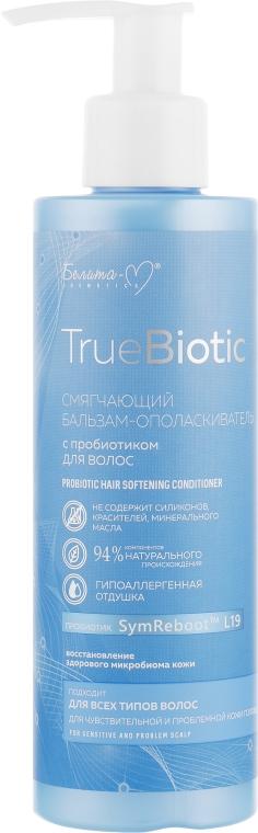 Смягчающий бальзам-ополаскиватель для волос с пробиотиком - Белита-М TrueBiotic Probiotic Hair Softening Conditioner