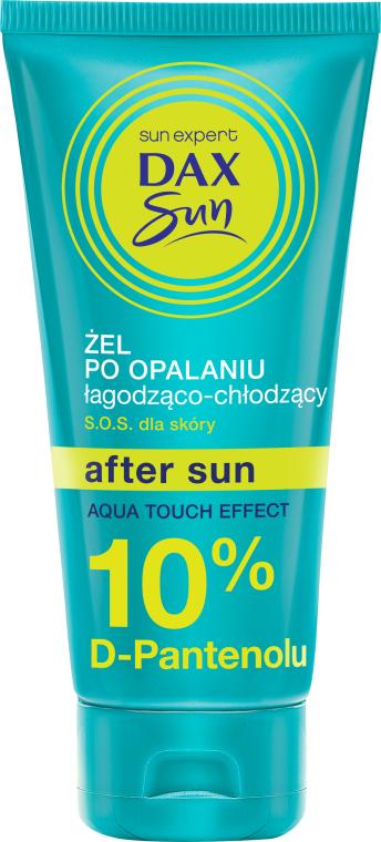 """Гель после загара """"Охлаждение и успокоение"""" с D-пантенолом 10% - DAX Sun After Sun Aqua Touch Effect"""