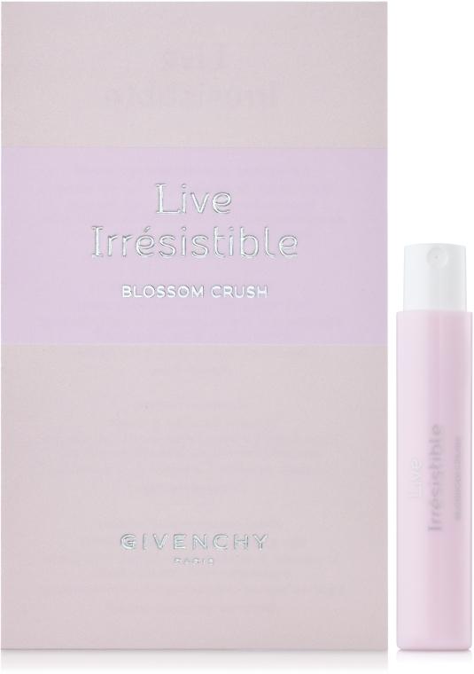 Givenchy Live Irresistible Blossom Crush - Туалетная вода (пробник)