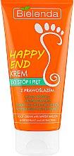 Духи, Парфюмерия, косметика Дезодорирующий и антибактериальный крем для ног - Bielenda Happy End Foot Cream With Marshmallow