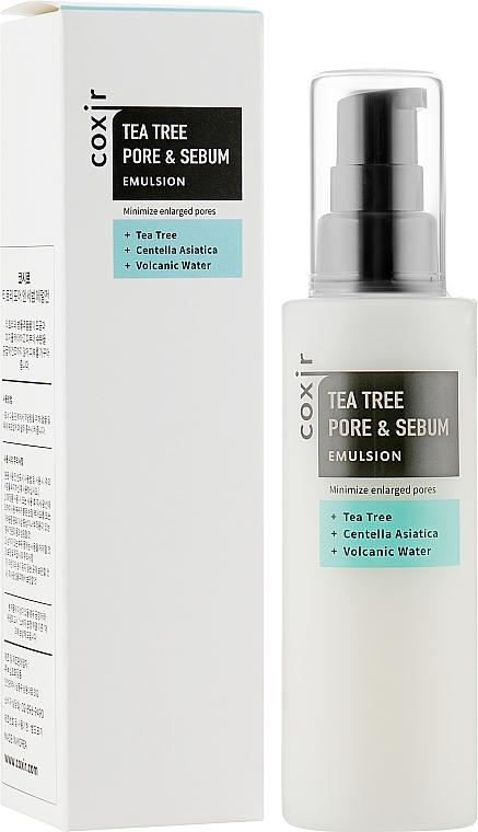 Эмульсия для лица - Coxir Tea Tree Pore & Sebum Emulsion