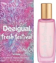 Духи, Парфюмерия, косметика Desigual Fresh Festival - Туалетная вода (мини)