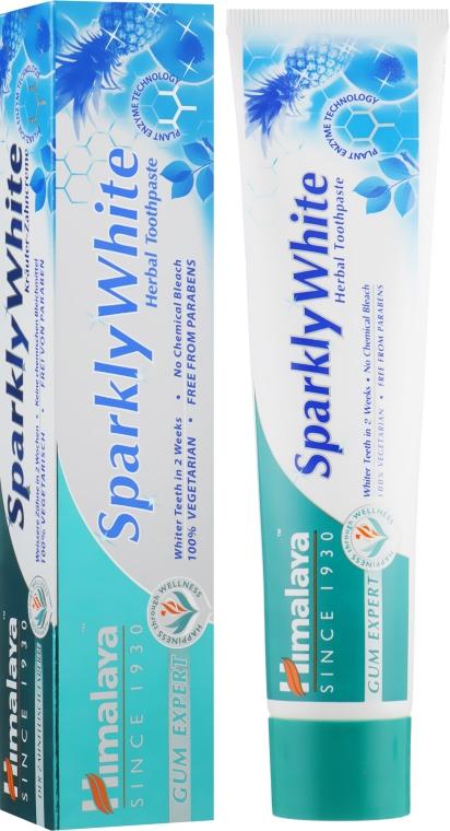 "Зубная паста ""Отбеливающая"" - Himalaya Herbals Gum Expert Sparkly White"