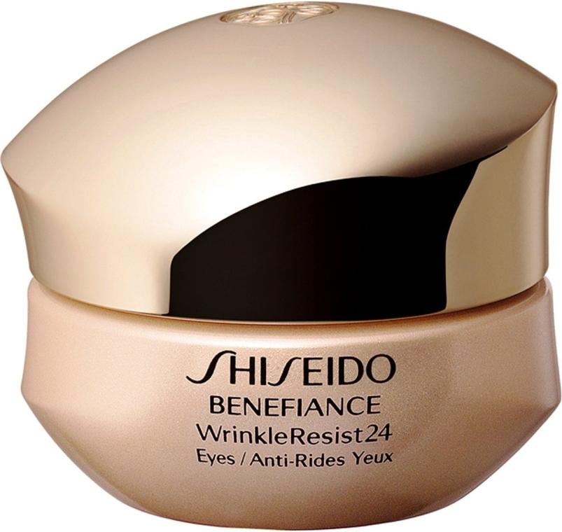 Интенсивный крем против морщин вокруг глаз - Shiseido Benefiance WrinkleResist24 Intensive Eye Contour Cream
