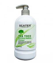 Духи, Парфюмерия, косметика Шампунь с маслом чайного дерева - Beaver Professional Tea Tree Nourishing Balance Shampoo