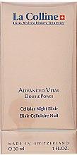Духи, Парфюмерия, косметика Эликсир ночной двойного действия - La Colline Cellular Advanced Vital Cellular Night Elixir