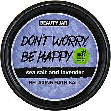"Духи, Парфюмерия, косметика Соль для ванн ""Don't Worry, Be Happy"" - Beauty Jar Relaxing Bath Salt"