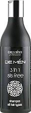 Духи, Парфюмерия, косметика Шампунь 3 в 1 для мужчин - DeMira Professional DeMen 3-in-1 Shampoo