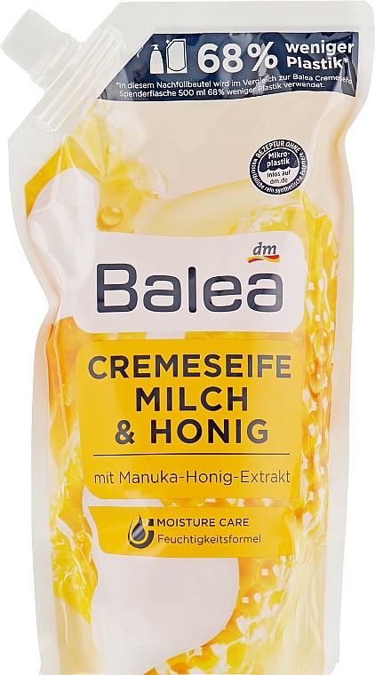 """Жидкое крем-мыло """"Молоко & Мёд"""" - Balea Creme Seife Milch & Honig (сменный блок)"""
