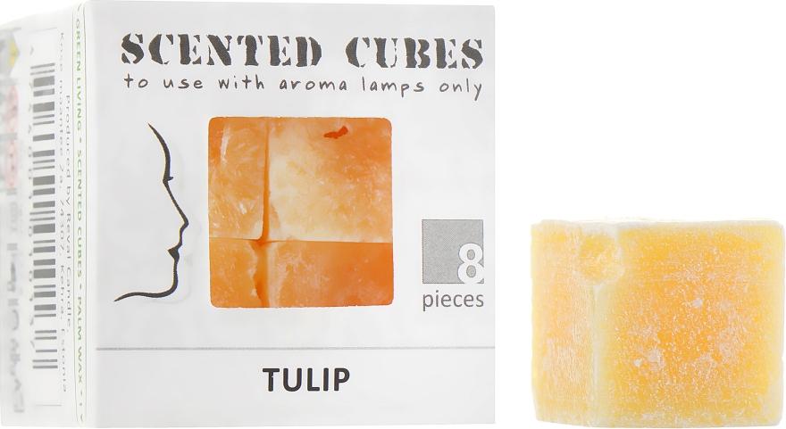 "Аромакубики ""Тюльпан"" - Scented Cubes Tulip Candle"