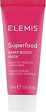 Духи, Парфюмерия, косметика Ягодная маска-бустер - Elemis Superfood Berry Boost Mask (мини)