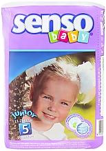 Духи, Парфюмерия, косметика Подгузники Senso Baby Junior 5 (11-25 кг) 16 шт - Senso Baby