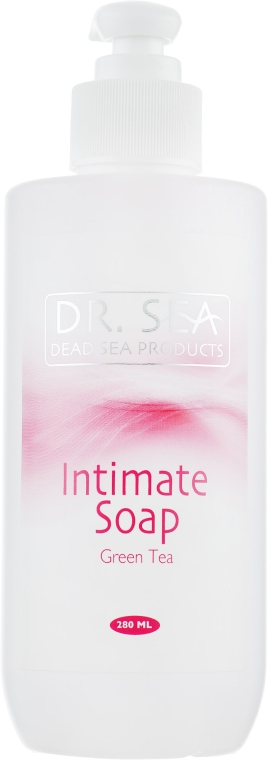 Мыло для интимной гигиены с экстрактом зеленого чая - Dr. Sea Intimae Soap