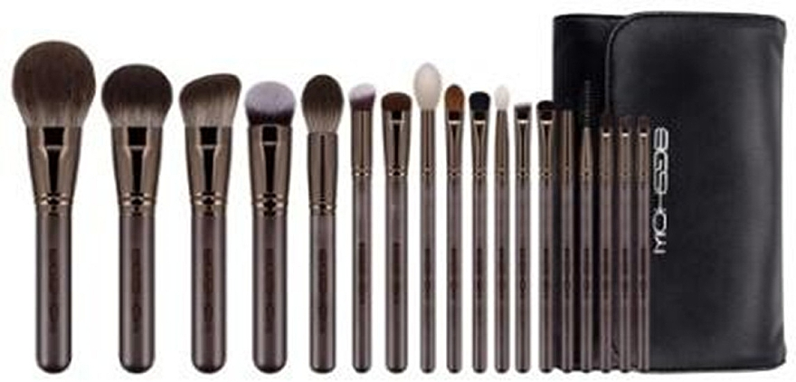 Набор кистей для макияжа, 18 шт - Eigshow Beauty Lucky Coffee Brush Kit