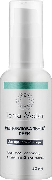 Восстанавливающий крем для лица - Terra Mater Repairing Face Cream