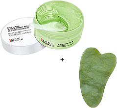 Духи, Парфюмерия, косметика Набор - Bioaqua (eye/patch/60pcs + f/massager/1pc)