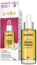 Духи, Парфюмерия, косметика Масло для лица и шеи с эффектом лифтинга - Evree Revita Perilla Lifting Face Oil