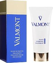 Парфумерія, косметика Живильний крем для рук - Valmont Hand Nutritive Treatment