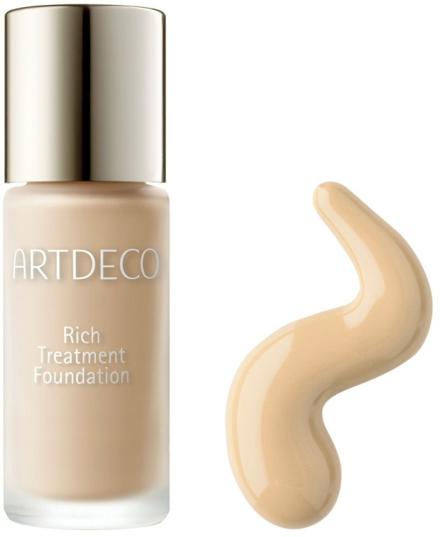 Тональный крем - Artdeco Rich Treatment Foundation (мини) (тестер)