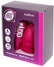 Духи, Парфюмерия, косметика Менструальная чаша, размер M - Genial Day Menstrual Cup