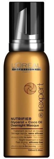 Питательный ночной уход для волос - L'Oreal Professionnel Nutrifier Night Treatment