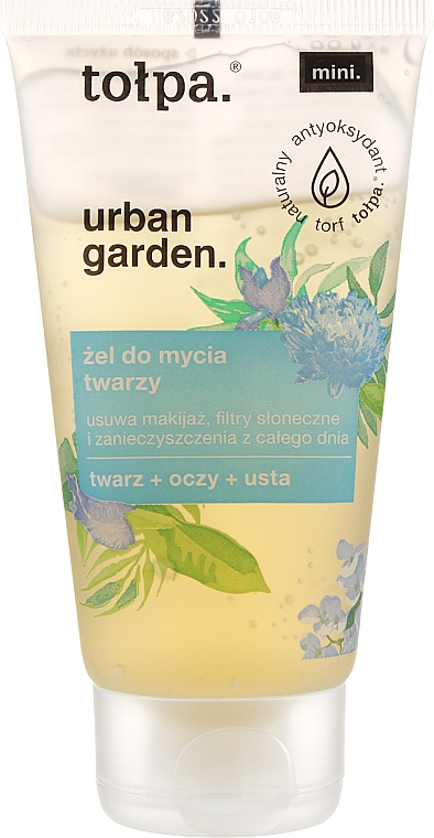 Гель для умывания - Tolpa Urban Garden Face Gel Cleanser