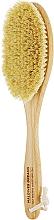 Духи, Парфюмерия, косметика Большая щетка с ручкой для сухого массажа из листьев агавы - Maldives Dreams No Water Hard Brush